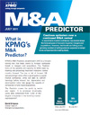 M&amp;A Predictor  juillet 2011